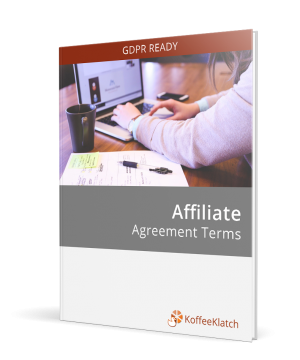 Affiliate Marketing Contract