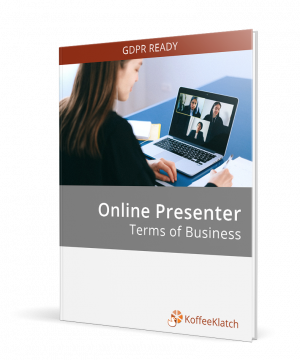 Online Presenter Contract