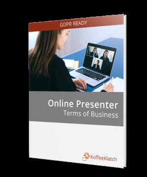 Online Presenter Contract