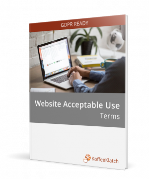 Website acceptable use