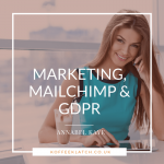 mailchimp and GDPR insta