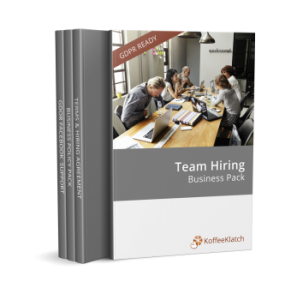 Team hiring pack shot