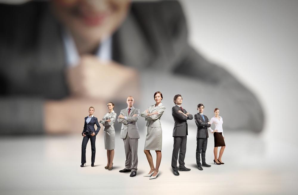 Employment agency team