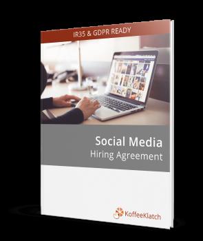 social media contracts & hiring