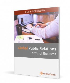 Global Public relations contract